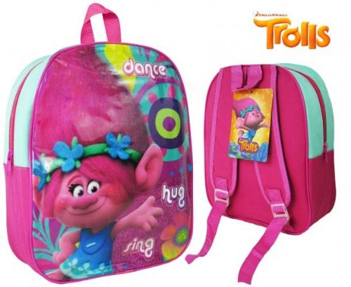 "Trolls ""Poppy"" Character Nursery School Backpack"